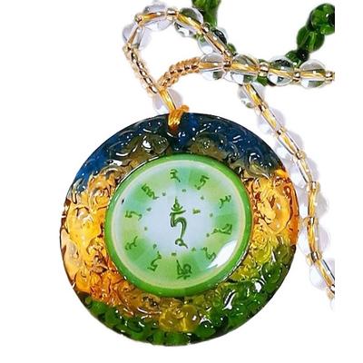 2.Amulette tara verte