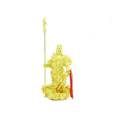 Kwan Kung, dieu de la richesse or 24 carats
