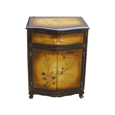 meuble d 39 entr e laque de chine cuivre meubles collection laque de chine cuivre magie d 39 asie. Black Bedroom Furniture Sets. Home Design Ideas