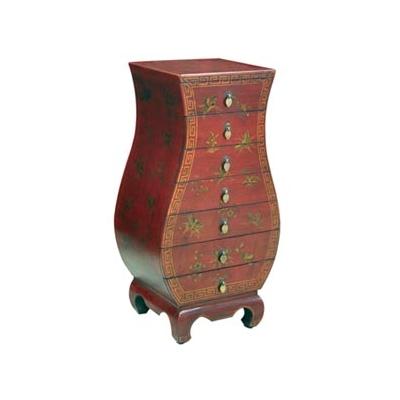 Colonne de rangement sept tiroirs style Cité Xian