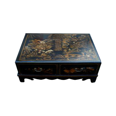 Table basse quatre tiroirs Nuit de Chine
