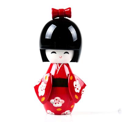 Poupée Kokeshi rouge du japon