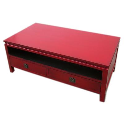 Table basse japonaise avec tiroirs et Niche collection Passion Zen