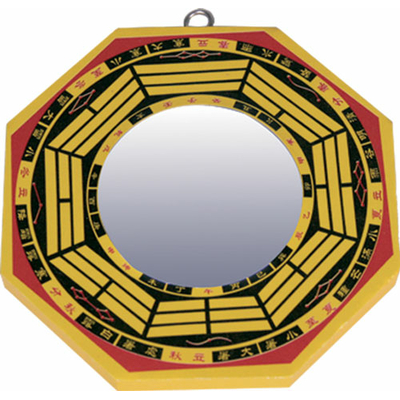 Miroir Pa Kua convexe 12,5 cm
