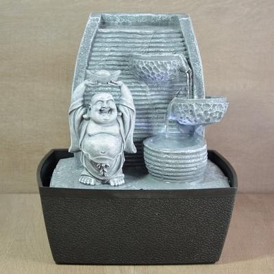 Fontaine Bouddha richesse et prospérité