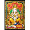 Tenture Ganesh : Divinité a tête d'éléphant
