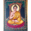Tenture du Bouddha : sagesse et méditation