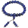 Bracelet bouddhiste mala veritable sodalite