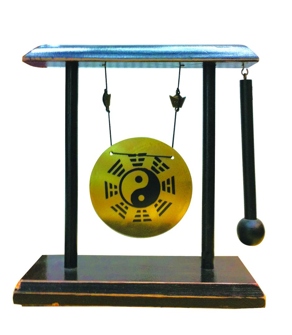 Gong yin yang et pa kua feng shui gong et carillon for Porte zen fuji