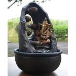 Vastu-fontaine-pierre-ganesh-bouddha-indonesien