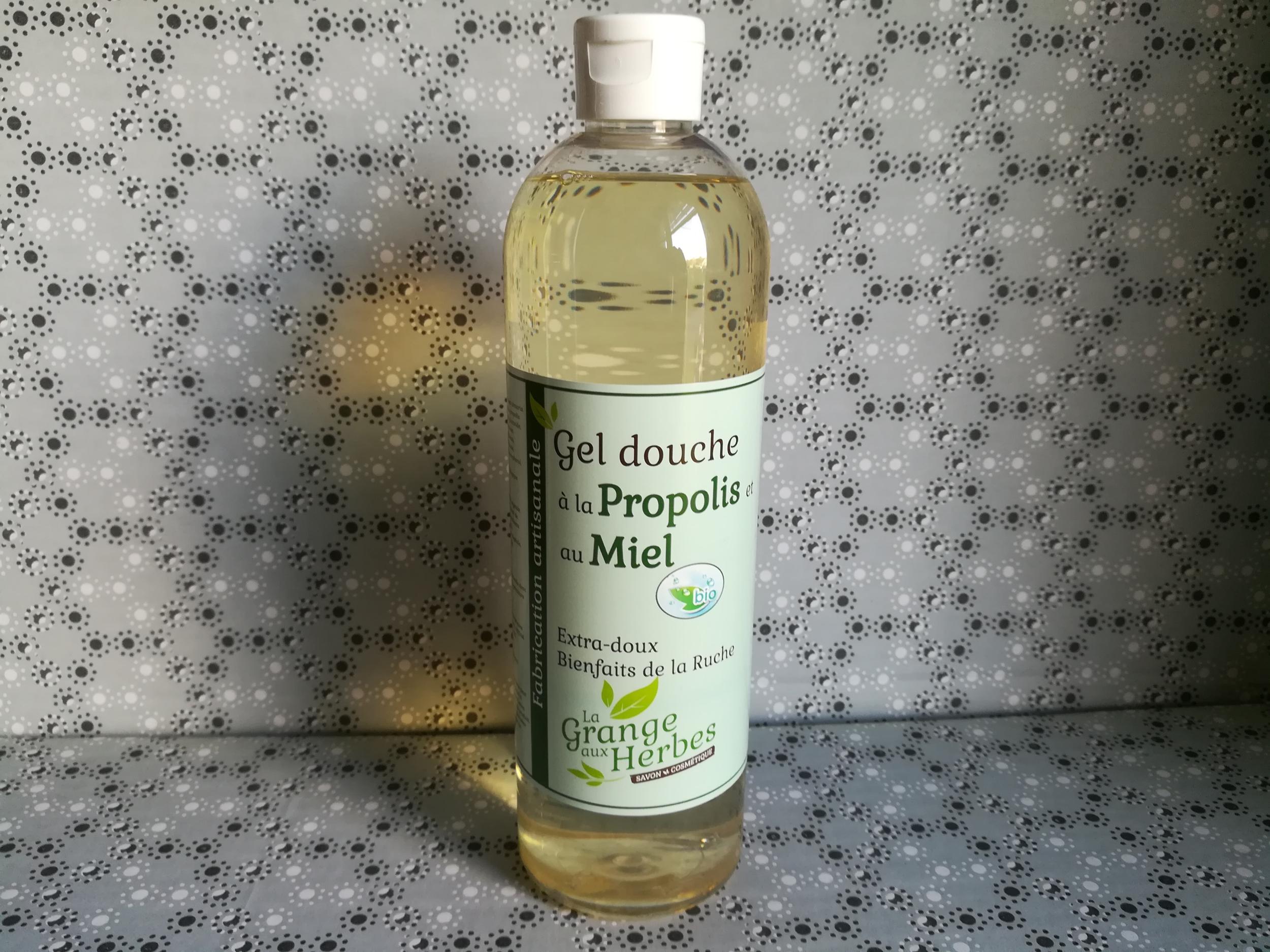 Gel douche propolis et miel bio 500 ml