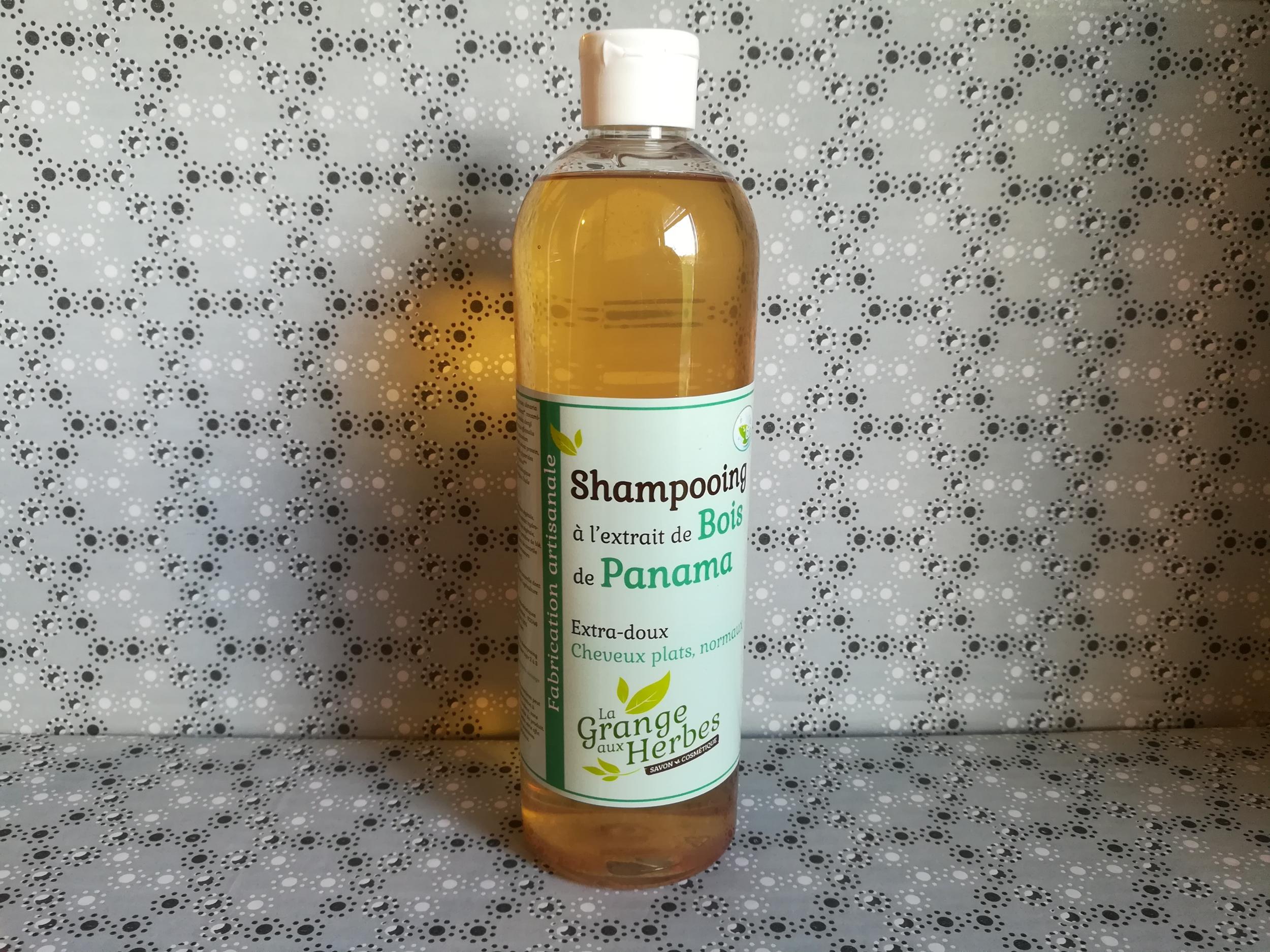 Shampooing bio à l\'extrait de bois de panama
