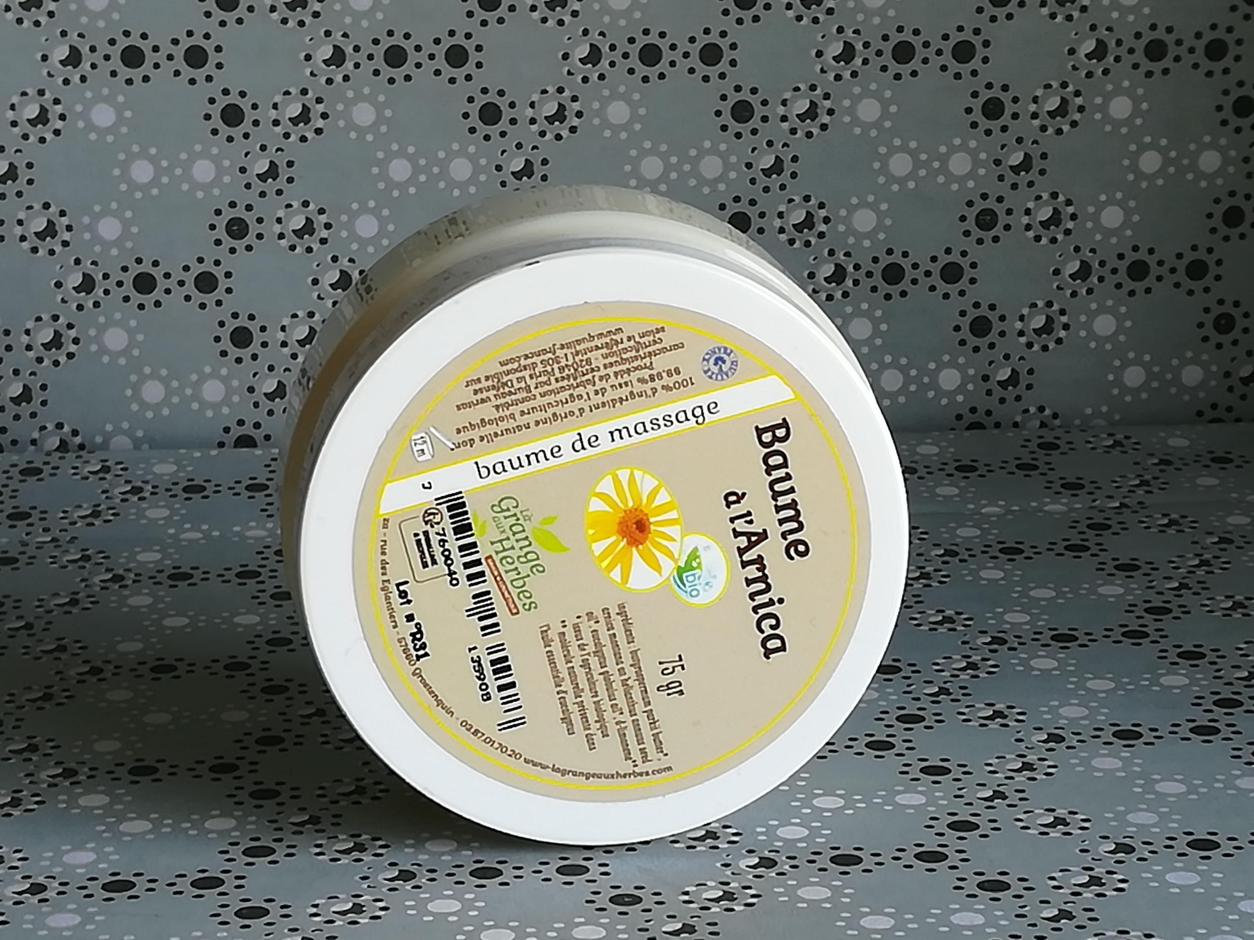 baume arnica bio
