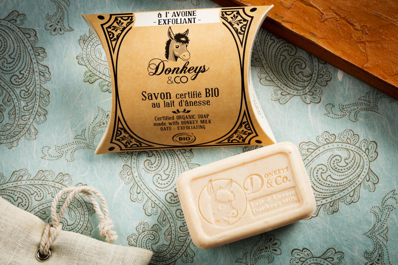 AVOINE savon exfoliant avoine et lait bio