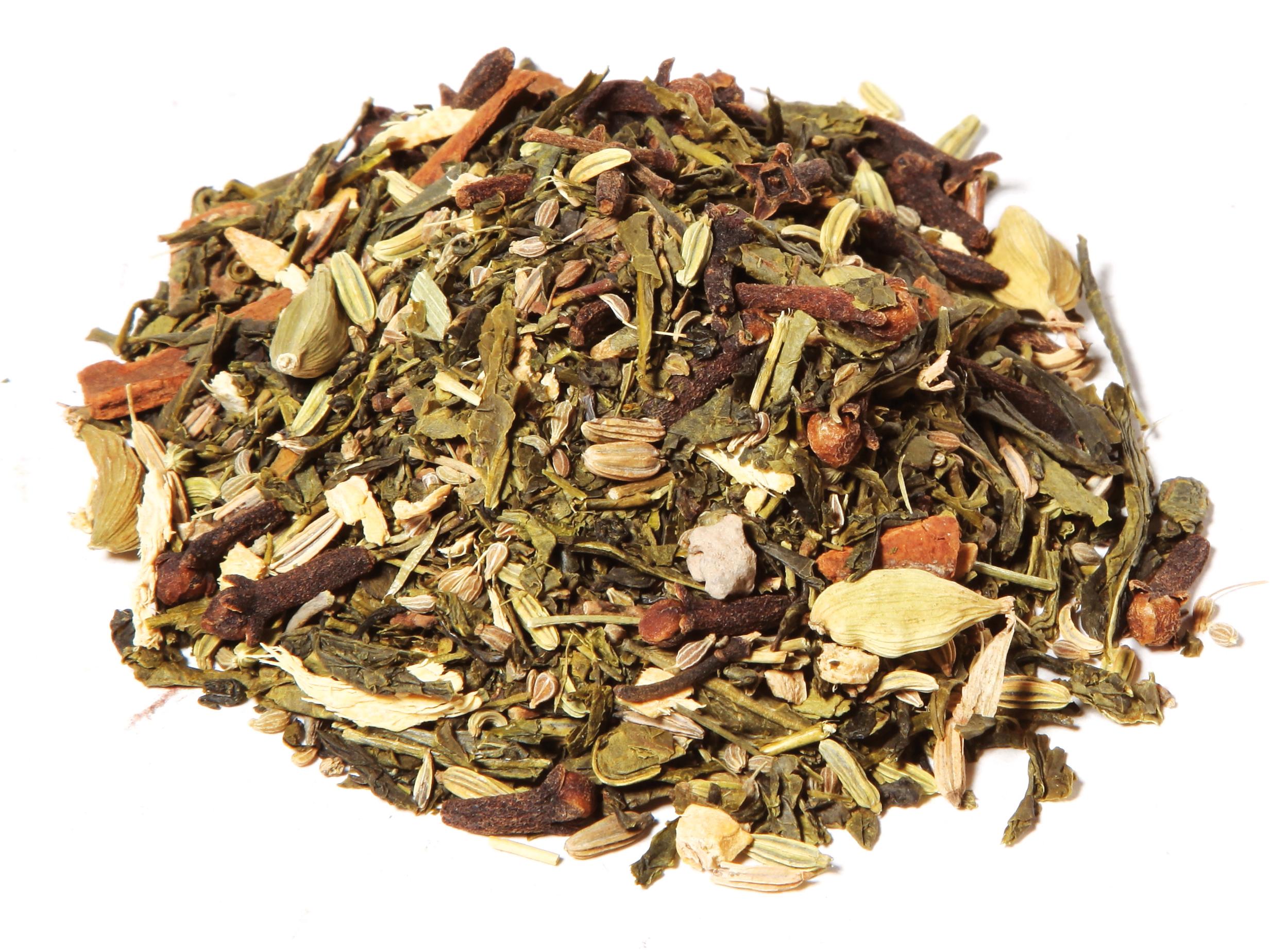 Chaï  thé vert bio sachet 100 g