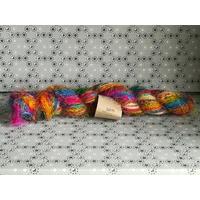 SARI fil pure soie recyclée coloris 3