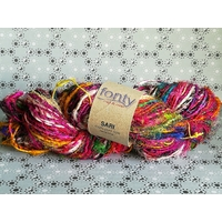 SARI fil pure soie recyclée coloris 4