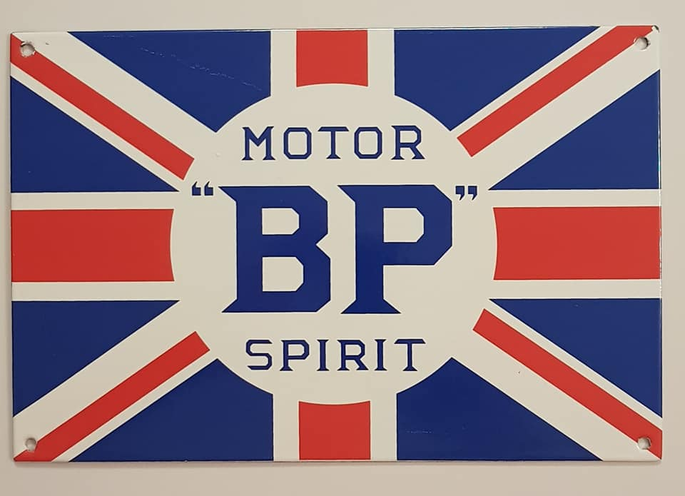 Plaque émaillée Motor Spirit