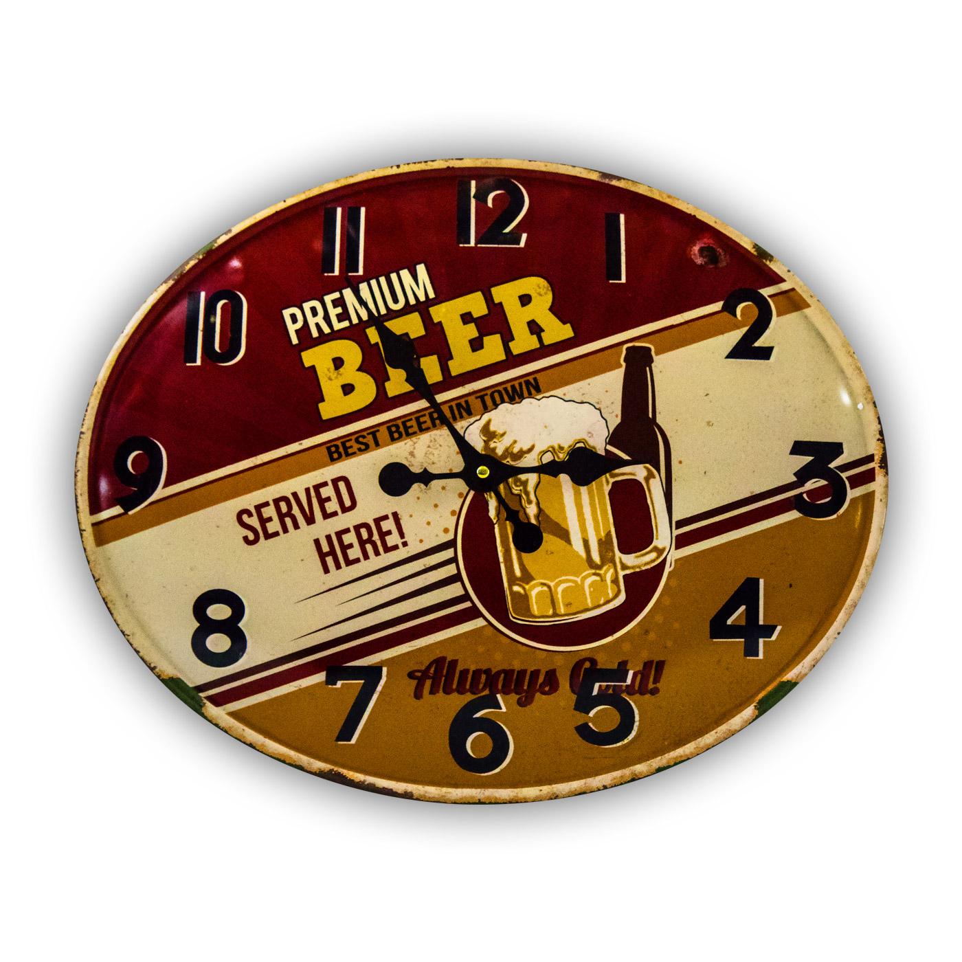 Horloge Premium BEER