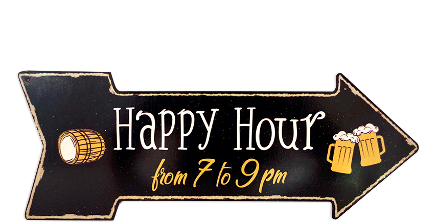 Flèche Happy Hour 7 to 9