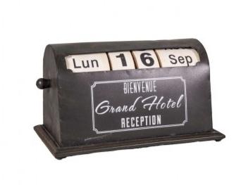 Calendrier de bureau perpétuel vintage