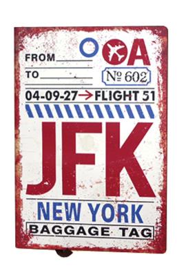carnet de notes JFK GM