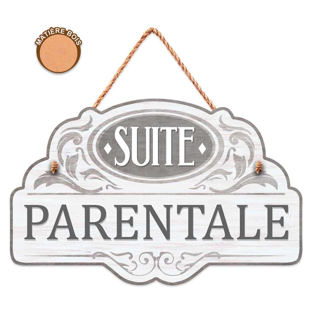 Plaque suite parentale