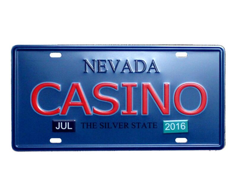 Plaque immatriculation Casino