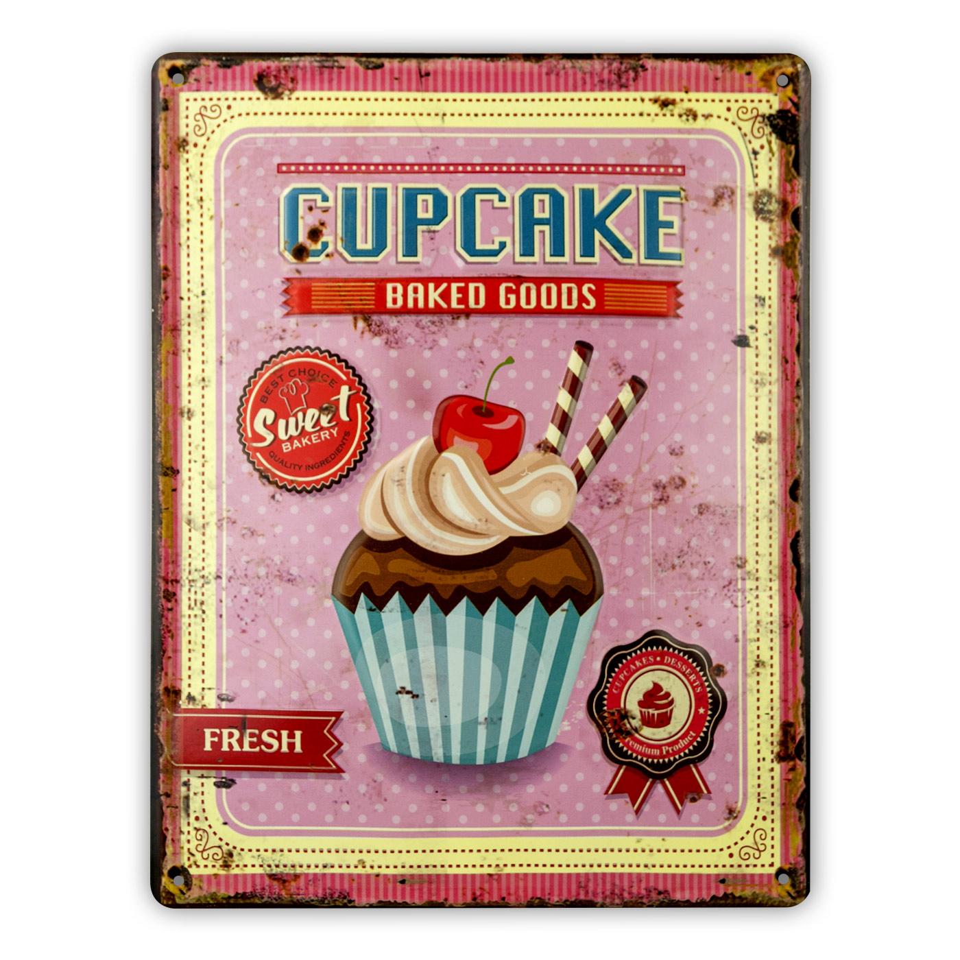cupcake-plaque-metal