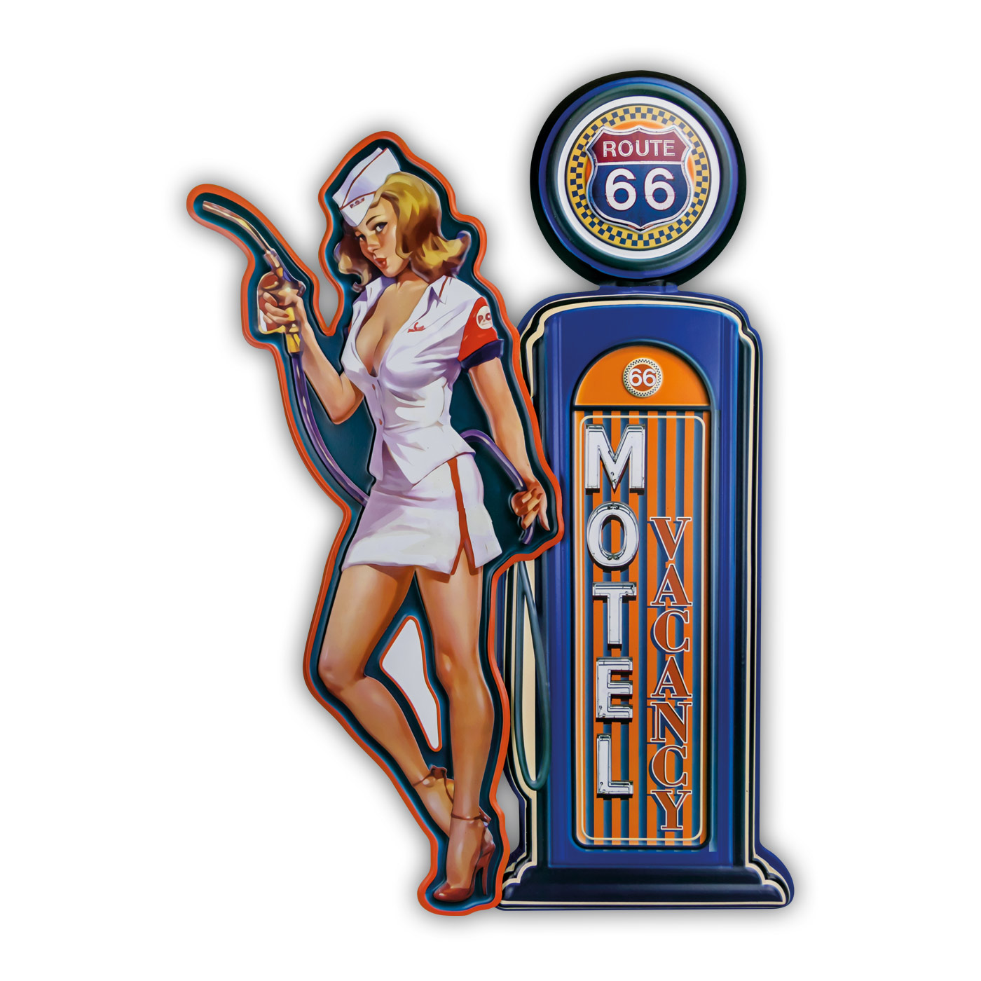 Pin up Motel Route 66