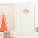 plaque chambre de bébé 2