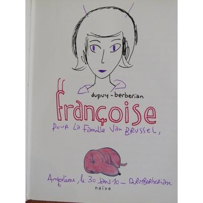 Dupuy-Berberian - Françoise + dédicace+cd- signé