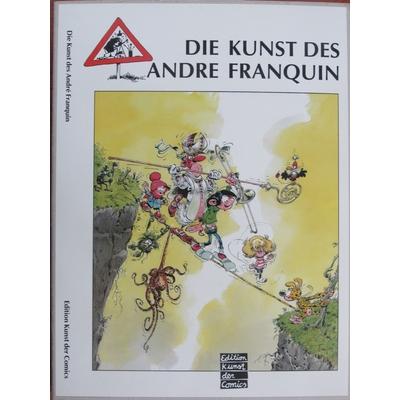 Franquin André - Die kunst des Andre Franquin - TT - EO(1988) -Signé