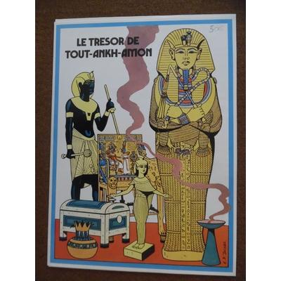 Jacobs - portfolio le trésor de Tout-Ankh-Amon