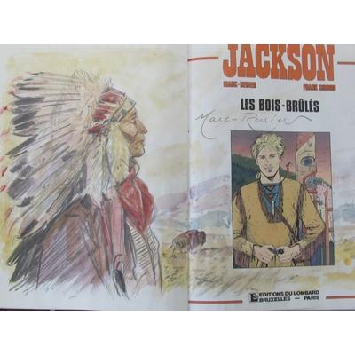 Marc-Renier - illustration originale - Jackson - T.1 - EO(1989)