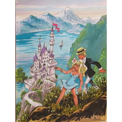 Dany- illustration originale - Olivier Rameau et Colombe