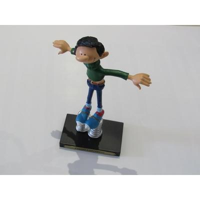 Franquin André - Figurine Gaston - Patins à ressorts