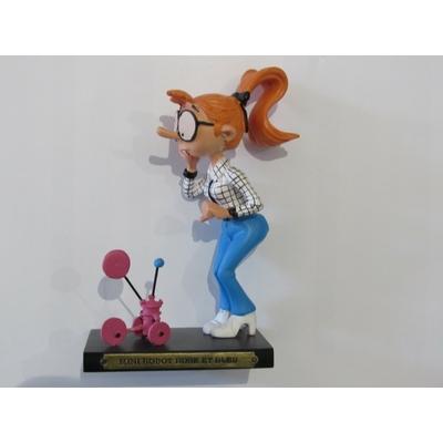 Franquin André - Figurine Gaston - Melle Jeanne