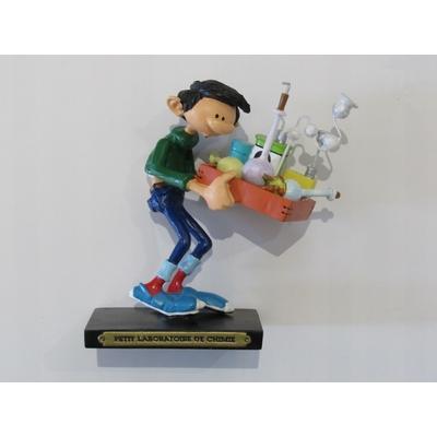 Franquin André - Figurine Gaston - Petit laboratoire de chimie