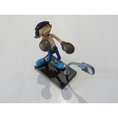 Franquin André - Figurine Gaston -punching-ball