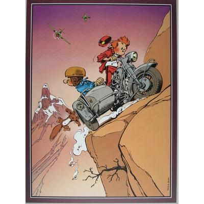 Janry et Tome - Spirou et Fantasio - Side-car-grand format
