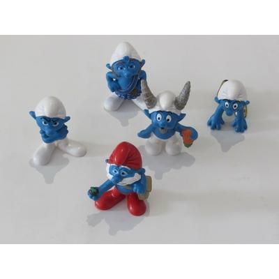 Peyo - 5 figurines Les schtroumpfs - Schleich 2013