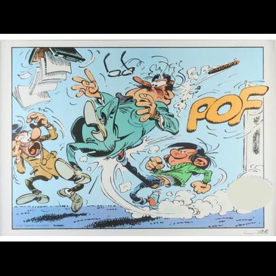 Franquin - Affiche offset Demeesmaker