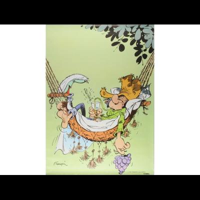 Franquin - Affiche offset Le hamac