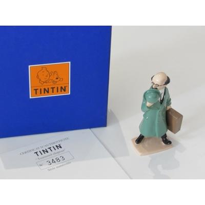 Hergé-Pixi Tintin - Tournesol chapeau