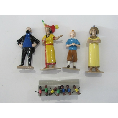 Hergé-Pixi Tintin - La scène de l'autel