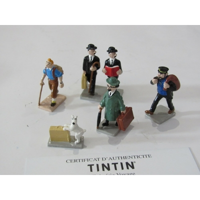 Hergé-Pixi Tintin - mini série voyage