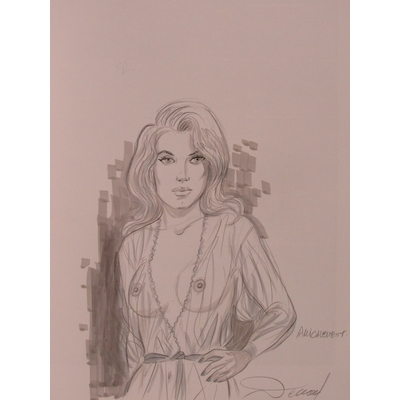 Renaud - Les crabes + dessin original - EO(2018) - signé