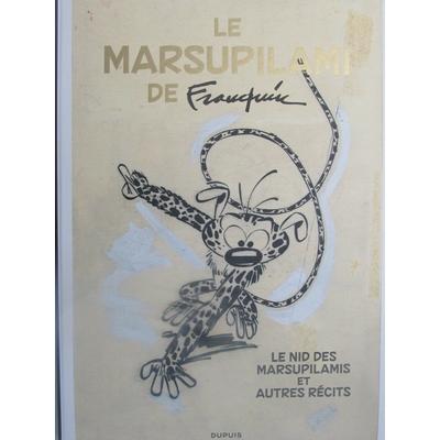 Franquin André - Tirage de luxe le Marsupilami de Franquin - VO 2018