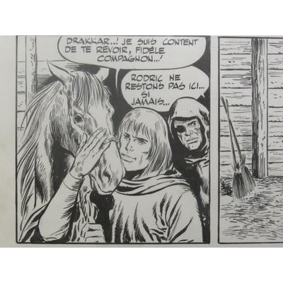 Forton Gerald - Strip original - Rodric et les Cathares